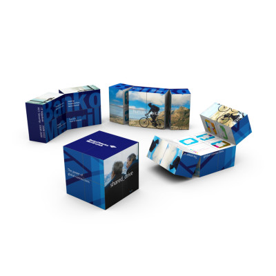 3point-Custom-Products-magic-cube-bank-of-america-internal-communication